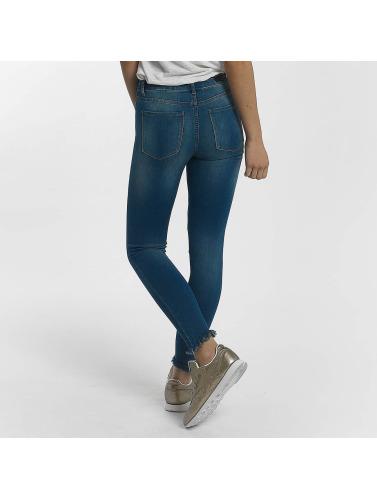 Pieces Damen Skinny Jeans pcFive Soft in blau
