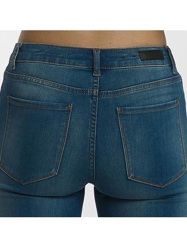 Pièces Damen Jeans Skinny Pcfive Doux Dans Blau