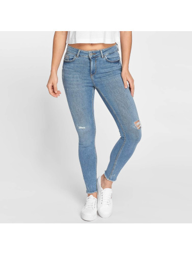 Pieces Damen Skinny Jeans pcFive in blau
