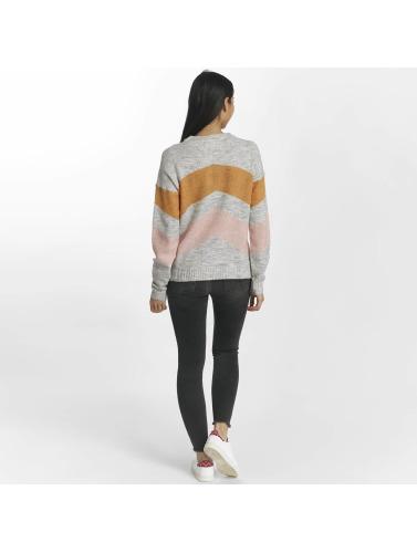 Pieces Damen Skinny Jeans pcFive Delly in grau