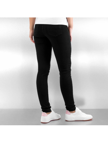 Pieces Damen Skinny Jeans pcBetty in schwarz