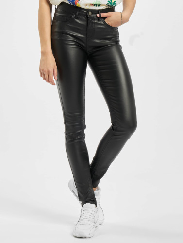 Pieces Damen Skinny Jeans PCFive Betty in schwarz
