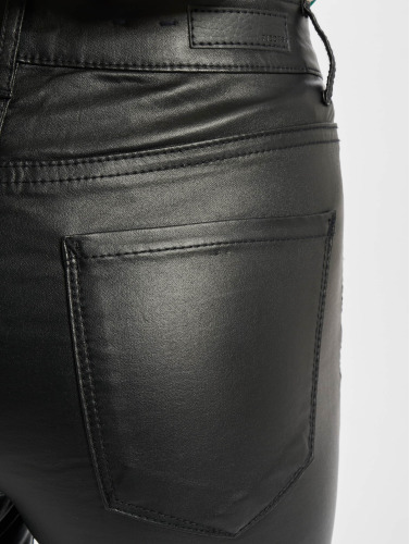 Pieces Damen Skinny Jeans PCFive Betty in schwarz