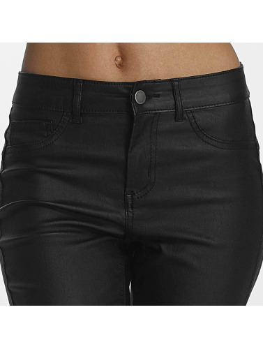 Pieces Damen Skinny Jeans pcShape Up in schwarz