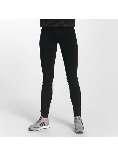 Pieces Damen Skinny Jeans pcHigh in schwarz