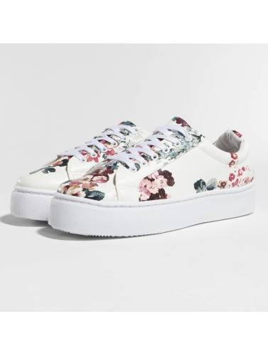 Pieces Damen Sneaker psMoa Flower in weiß