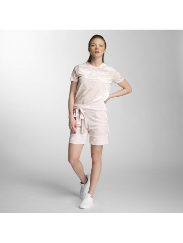 Pieces Damen T-Shirt pcEdith in rosa