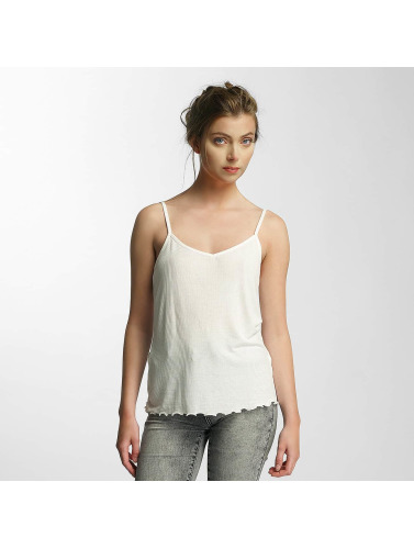 Pieces Mujeres Top psKin in blanco