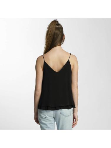 Günstig Kaufen Preis Pieces Damen Top pcKarlie in schwarz Billige Footaction 3uEoejaX