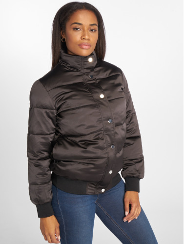 Pieces Damen Winterjacke pcLamillon in schwarz