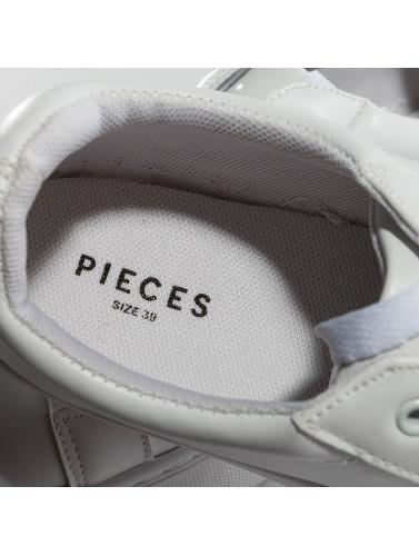 Pieces Mujeres Zapatillas de deporte psMonet in blanco