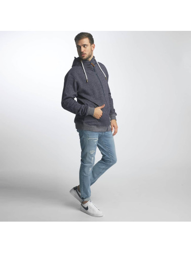 Platinum Anchor Herren Zip Hoodie Hookipa in blau