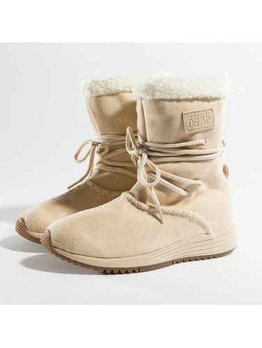 Project Delray Mujeres Boots Wavy Lux High in beis