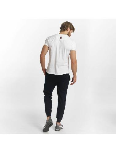 PSG by Dwen D. Corréa Hombres Camiseta Yohan in blanco