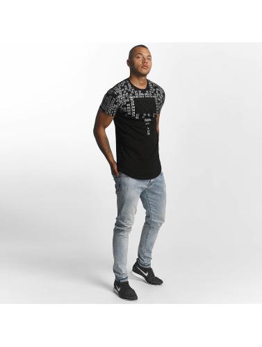 PSG by Dwen D. Corréa Hombres Camiseta Kylian in negro