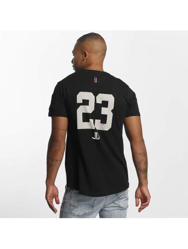 PSG by Dwen D. Corréa Hombres Camiseta Julian in negro
