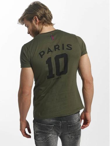 PSG by Dwen D. Corréa Herren T-Shirt Nahil in khaki