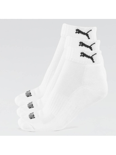 Puma Calcetines 2-Pack Cushioned Quarters in blanco