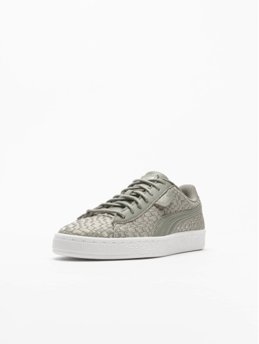 Puma Damen Sneaker Basket Satin EP in grau