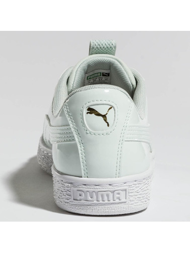 Puma Damen Sneaker Basket Maze in grün