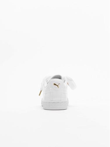 Puma Damen Sneaker Basket Heart Patent in weiß