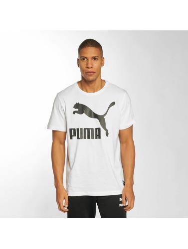 Puma Herren T-Shirt Archive Logo in weiß