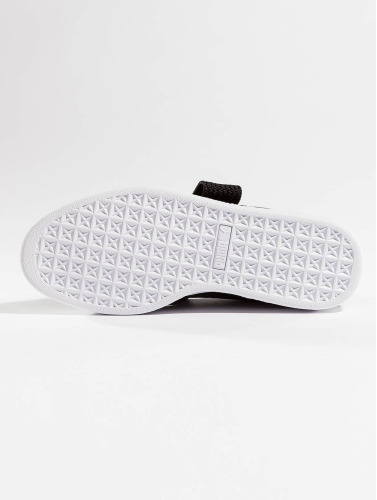 Puma Mujeres Zapatillas de deporte Basket Heart Patent in negro