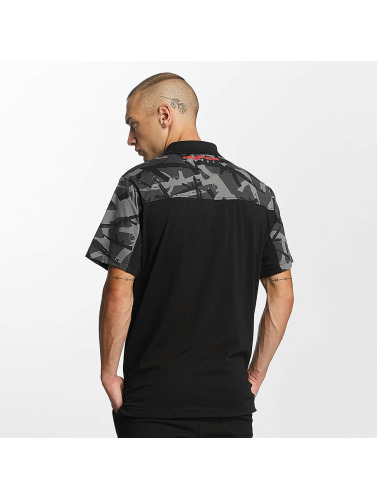 Pusher Apparel Herren Poloshirt AK Camo in camouflage