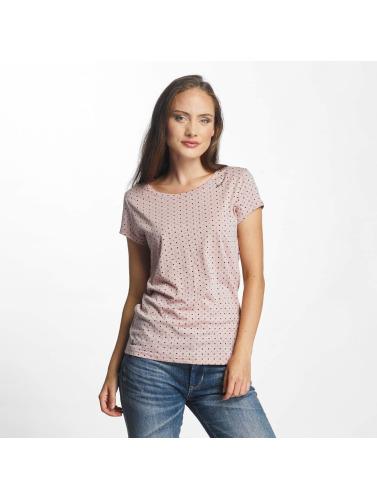 Ragwear Mujeres Camiseta Mint Dots in fucsia