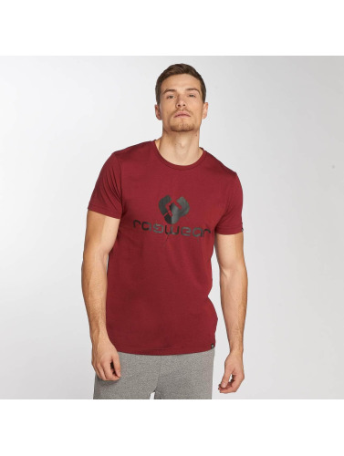 Ragwear Hombres Camiseta Charles in rojo