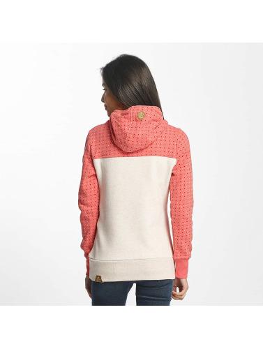 Ragwear Damen Hoody Nuggie in rosa Verkauf Mode-Stil Billig Verkauf Mit Mastercard K58qjSY