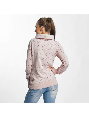 Ragwear Damen Pullover Afra Organic in pink