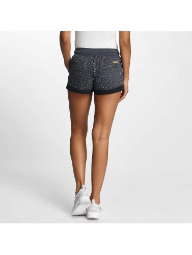 Ragwear Damen Shorts Norah Dots in blau