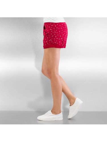 Ragwear Damen Shorts Norah Navy in rot