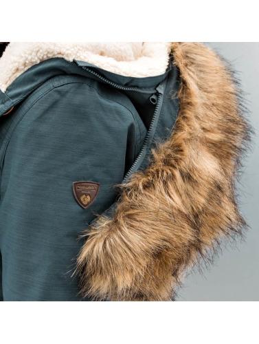 Ragwear Ladies Transition Jacket In Blue Wooki
