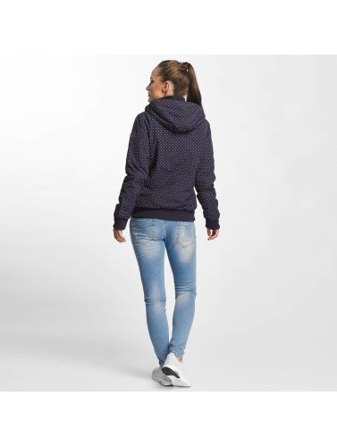 Ragwear Damen Winterjacke Nuggie in blau