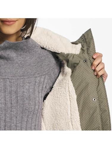 Ragwear Damen Winterjacke Laika Minidots in braun