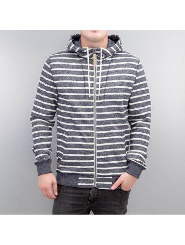 Ragwear Herren Zip Hoodie Marty Stripes Organic in blau