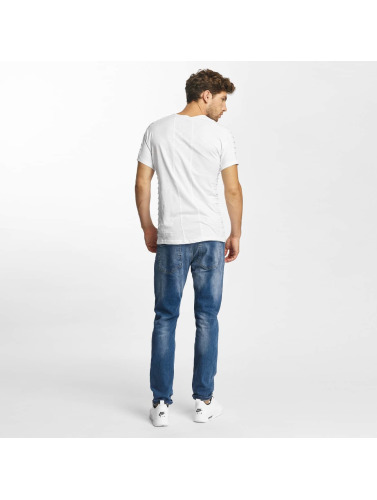 Red Bridge Hombres Camiseta Enver in blanco