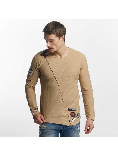 Red Bridge Hombres Camiseta de manga larga Paul in marrón