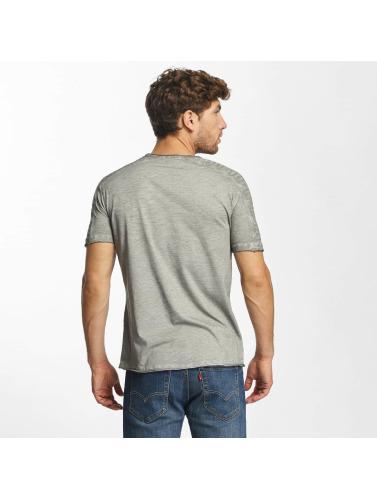 Red Bridge Hombres Camiseta Vintage Seam in gris