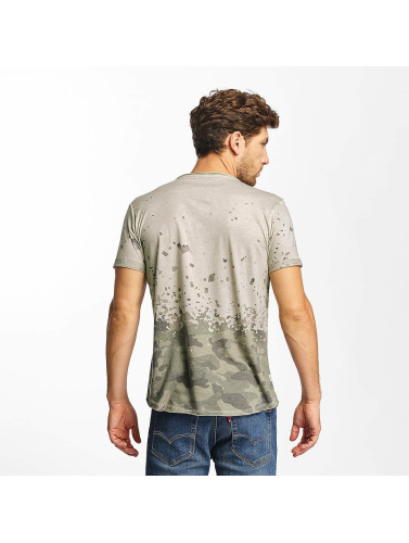 Red Bridge Hombres Camiseta Stay Up in gris