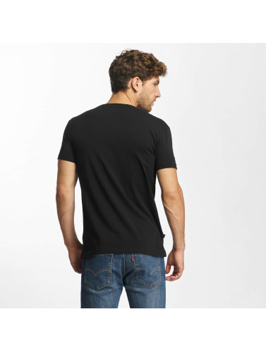 Red Bridge Hombres Camiseta From Good To Bad in negro