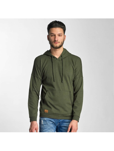 Red Bridge Herren Hoody Nameless Faces in khaki