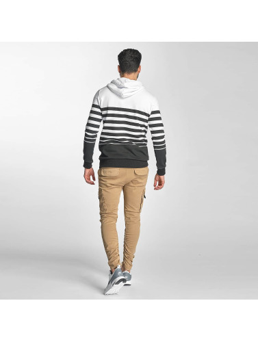 Red Bridge Herren Hoody Young Stripes in weiß