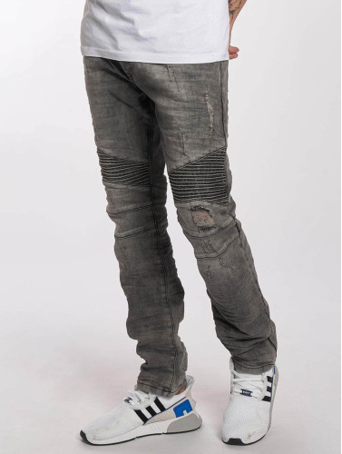 Red Bridge Hombres Jeans ajustado Used in gris