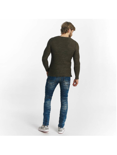 Red Bridge Hombres Jersey Knit in caqui