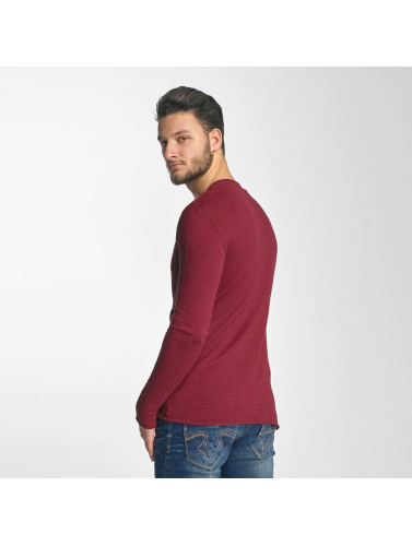 Red Bridge Hombres Jersey Checkered Royalty in rojo