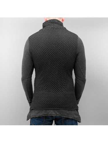Red Bridge Herren Longsleeve Knit in grau