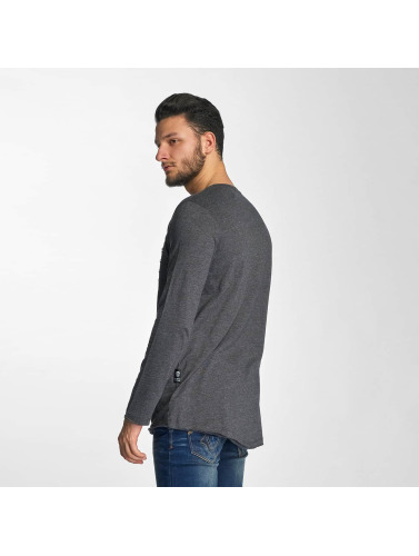 Red Bridge Herren Longsleeve Trick in grau